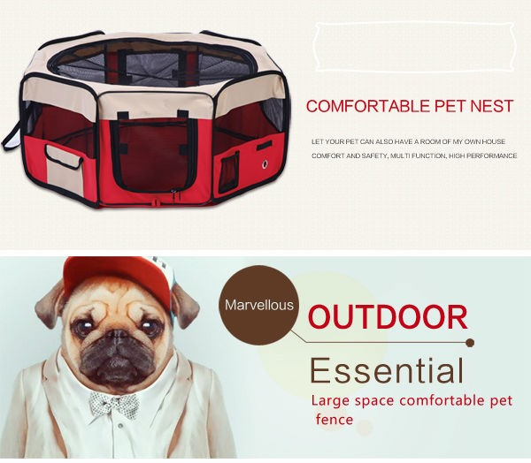 foldable pet carrier dog cat travel carrier polyester with PVC coating factory
