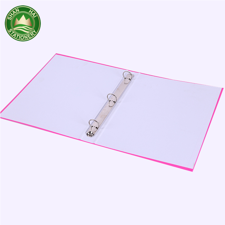 Wholesale high quality a5 ring binder 3 ring pocket folders