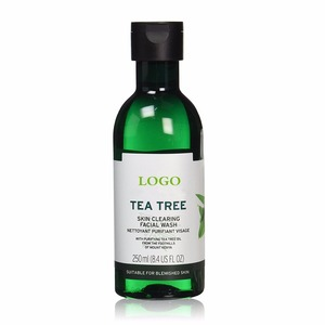 Best private label organic tea tree clean clear face wash
