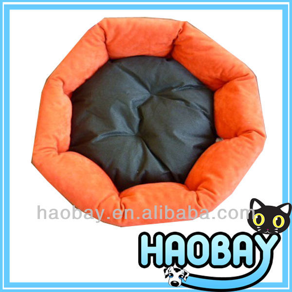 Sunflower Shaped Short Fur And PP Filling Personalized Designer Pet Beds