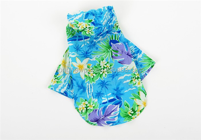 Hawaiian Summer Shirts Pet Apparel Small Dog Clothes