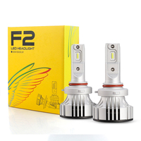 F2 LED Canbus Lamp High Power Headlight H4 Led Lights for Cars H4