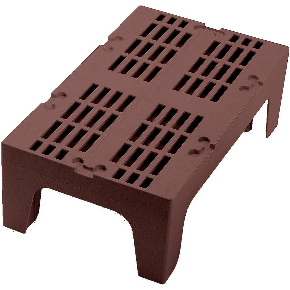 """Cambro DRS360131 S-Series Dunnage Rack slotted top 1500 lb. load 21""""W x 36""""L x 1"""