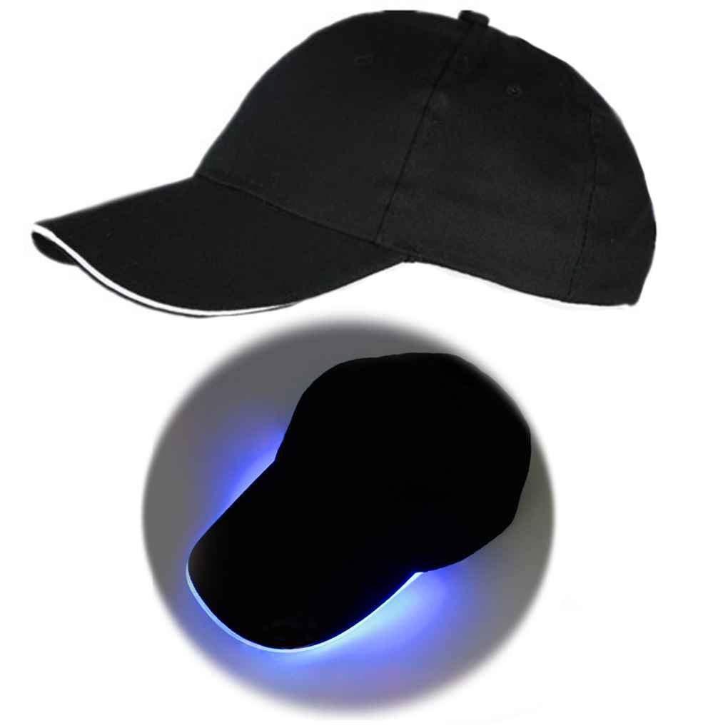 Get Quotations · KOROWA LED Light Baseball Cap Glow At Night Club Party Hat  Stage Performance Cap f255a3fb508b