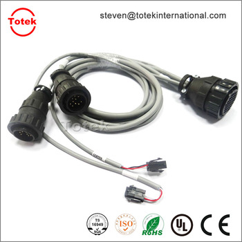 Te Amp Cpc 206306 Connector (circular Plastic Connectors) To Molex ...
