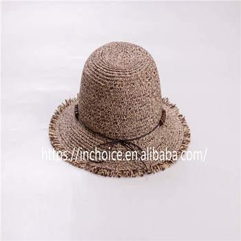Women s Caps Foldable Summer Beach Sun Straw Hats Tea Party Hat 623876eb895