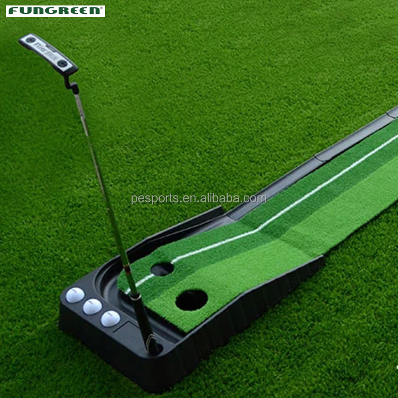 Plastic Indoor en Outdoor Mini Putting Green met Bal fairway 250*30 cm Golf Praktijk Green Turf