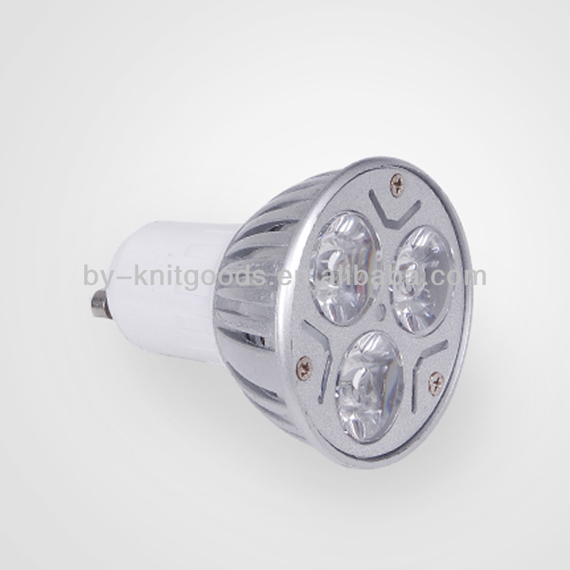 outdoor gu10 led spotlight 3w 270lm with CE&ROHS approval