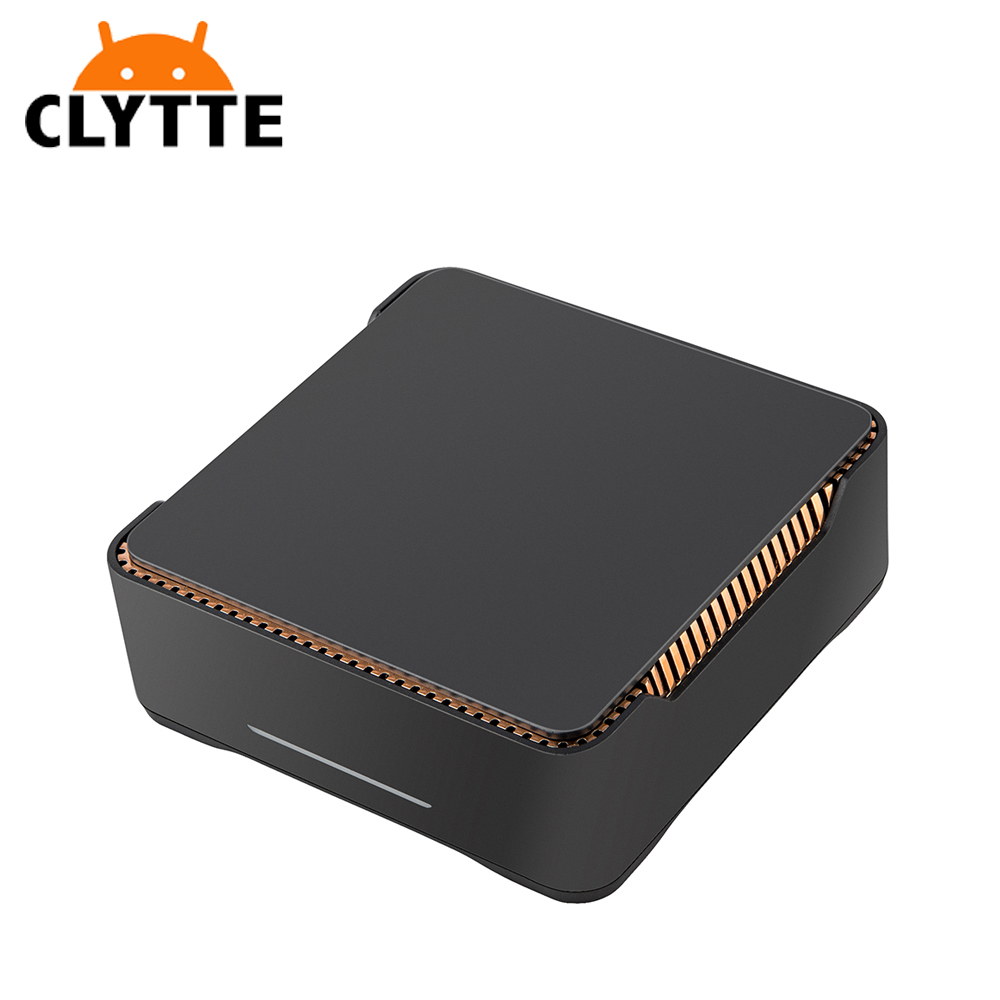 Clytte GK3 4G RAM 64G ROM Intel J4105 win10 tv box soporte 5G wifi del Z83V Mini PC Android tv box