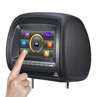 7 inch touchscreen car headrest dvd player WS-666