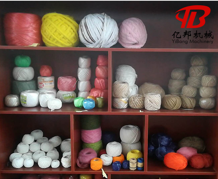 automatic pp string ball making winding machine