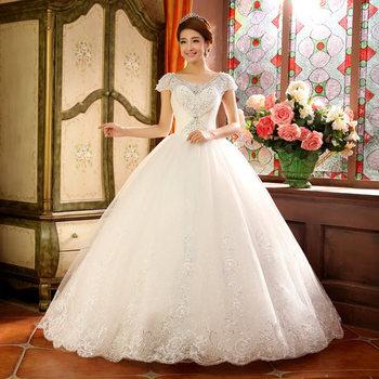 Grama vestido de noiva 2014 nova verso coreana da noiva branco grama vestido de noiva 2014 nova verso coreana da noiva branco palavra tiras dupla ombro qi junglespirit Choice Image