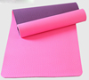 TPE Yoga Mat Dual-layer Paars & Roze