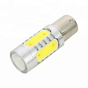 1156 auto led light ba15s ba15d cob super bright 7.5w base socket car bulb led turn signal lights