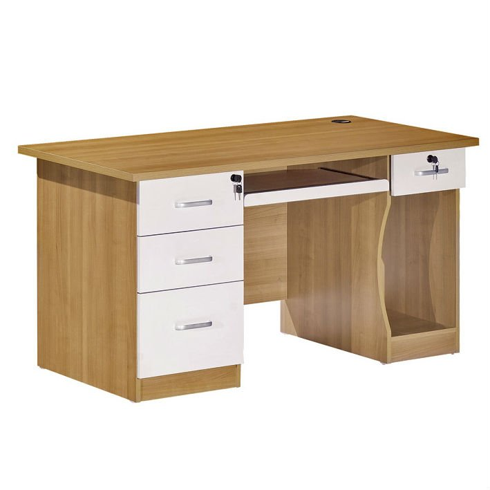 Superb Partical Board Computer Table With Storage Drawers Fc1411   Buy Wooden  Computer Table Design,Wooden Computer Table With Storage,Particle Board  Computer ...