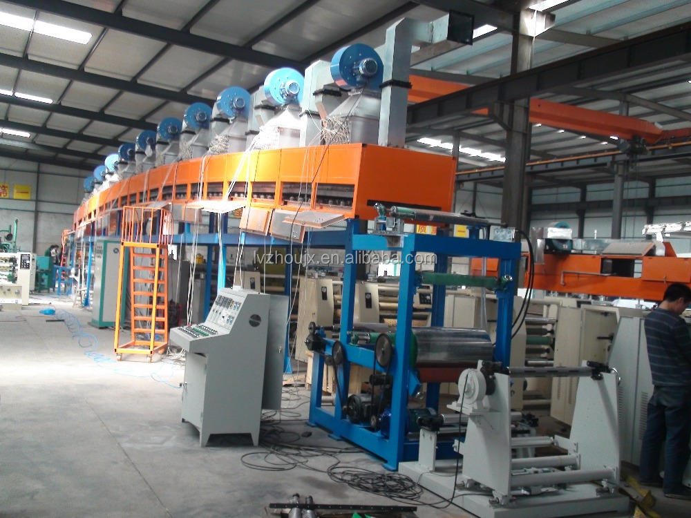 PE water base silicon and Compound Solvent Silicon PAPER coating machine