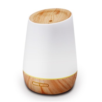 2019 new electric mini 500ml home ultrasonic aroma mist diffuser 7 color light changing humidifier