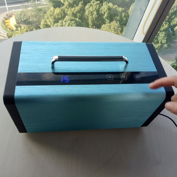 home Intelligent HEPA filter portable air purifier filter purifies PM2.5 smoke dust air cleaner