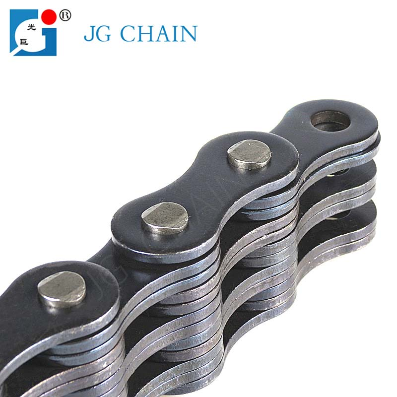 LH2466 high tensile alloy steel layer chain forklift spare part leaf chain truck lift parts