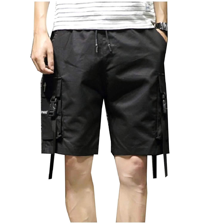 CMCYY Mens Loose Fit Thin Comfortable Classic Fit Slim Big and Tall Khaki Shorts