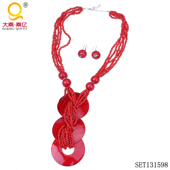 jewellery necklaces fashion red jewellery