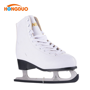 Cheap ICE figure skates cold resistant outdoor figure skate boots