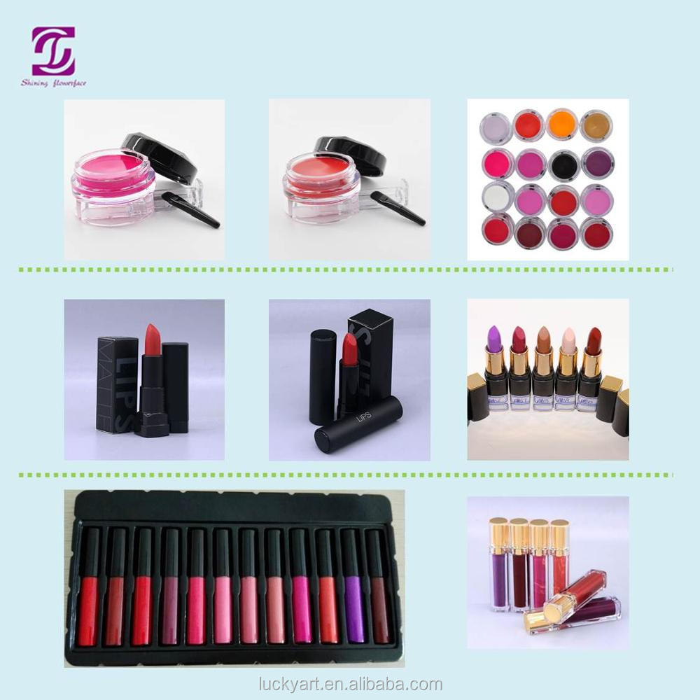 Makeup Lip Matte Long Lasting make your own brand liquid matte lipstick