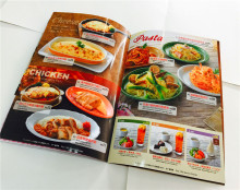Professionale cook book magazine stampa