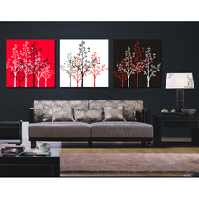 Pictures of wall decorative abstract fall garden scenes paintings
