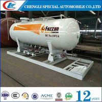 Chengli Special Automobile Co.Ltd made lpg gas tank lpg skid station