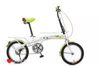 China wholesale 16 inch folding bike/folding bicycle with V-brake