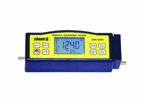 Phase II SRG-4000 Surface Roughness Testers Profilometer with External Stylus, 0.005-16µm Measuring Range, 139.mm H x 48mm D x 56mm W