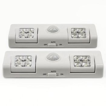 led concepts wireless motion sensor directional led night light light