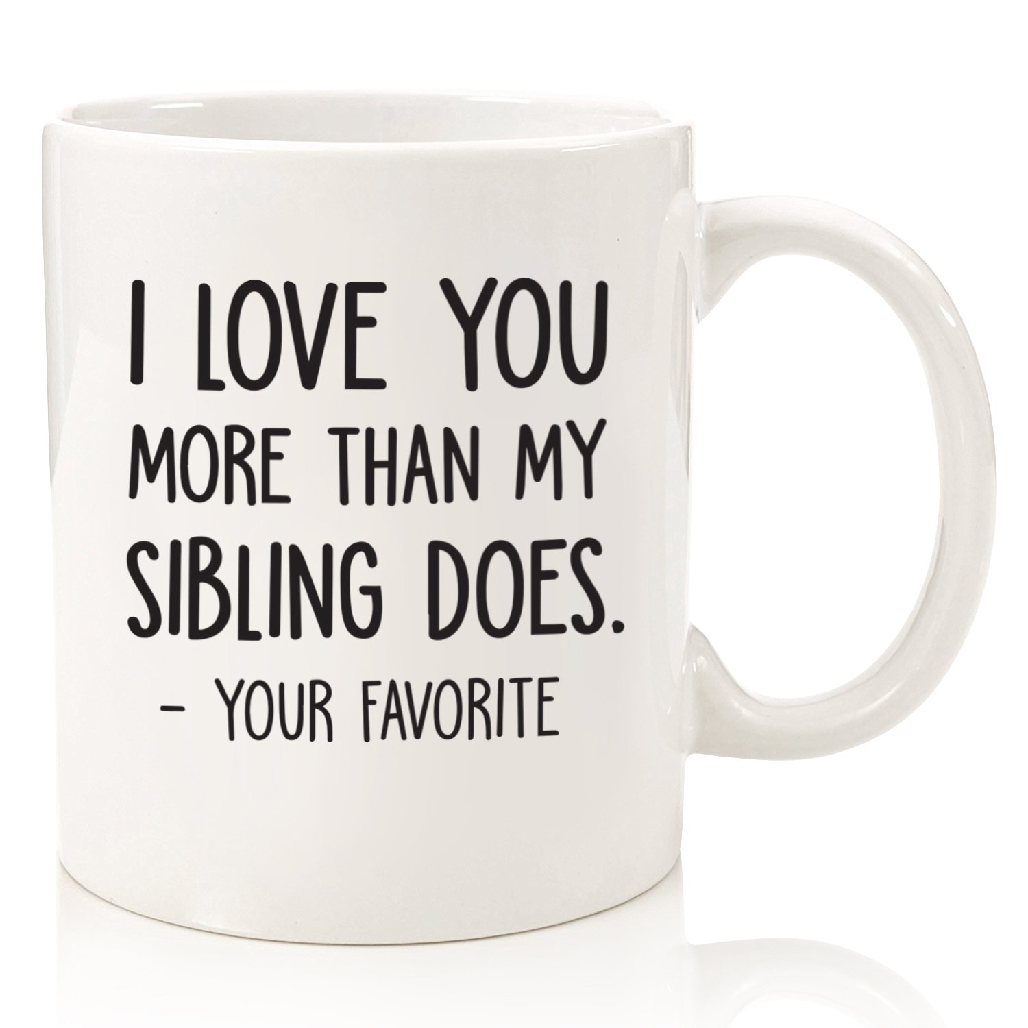 I Love You More Than.. Valentine/'s Day Mug Personalised Gifts Ceramic Cup