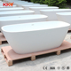 Cast stone stand alone bathtub / Poly marble freestanding bath tub