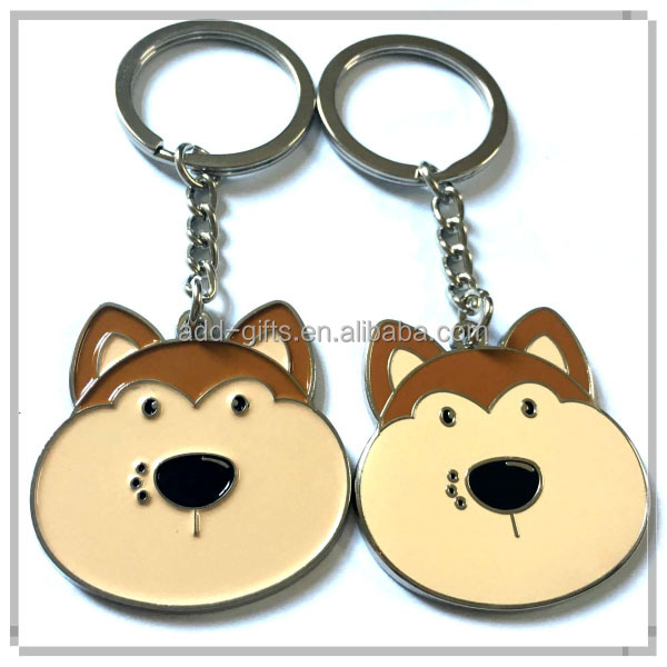 fat cute dog duck bear key chain animal zoo gift promotional key chain