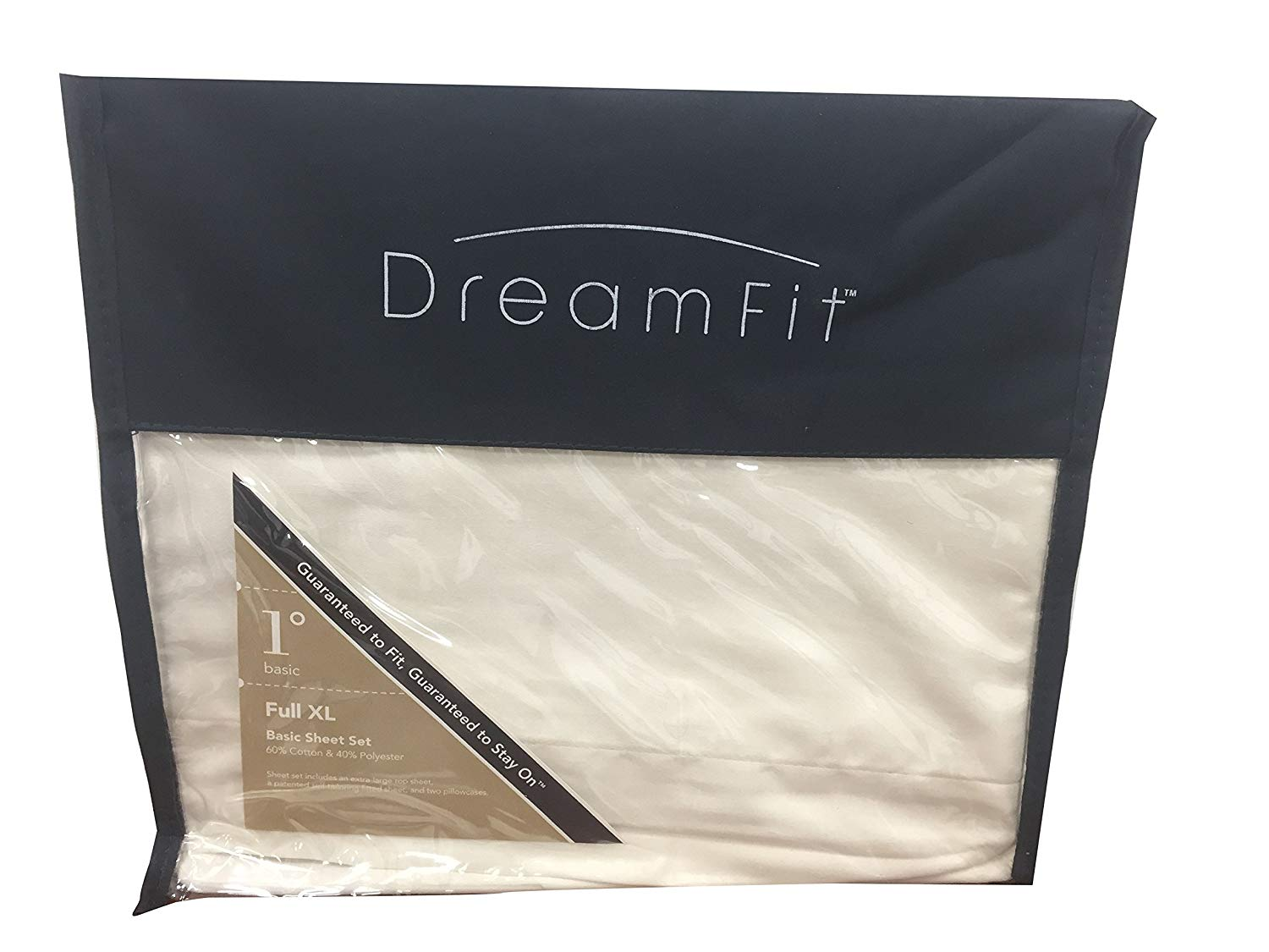 bfdd27abb Get Quotations · Dream Fit Full XL Basic Sheet Set