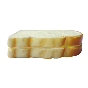 wholesale price for fake pu bread slice for decoration