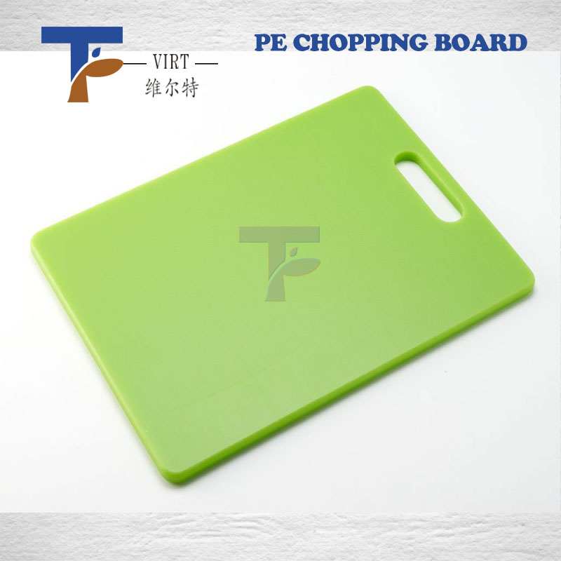 Kitchen Pe Plastic Cutting Board/chopping Board/chopping Blockwith Handle