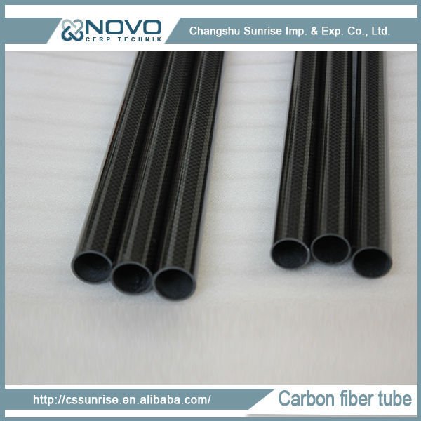 Hot china products wholesale price of carbon fiber pipe 16mm