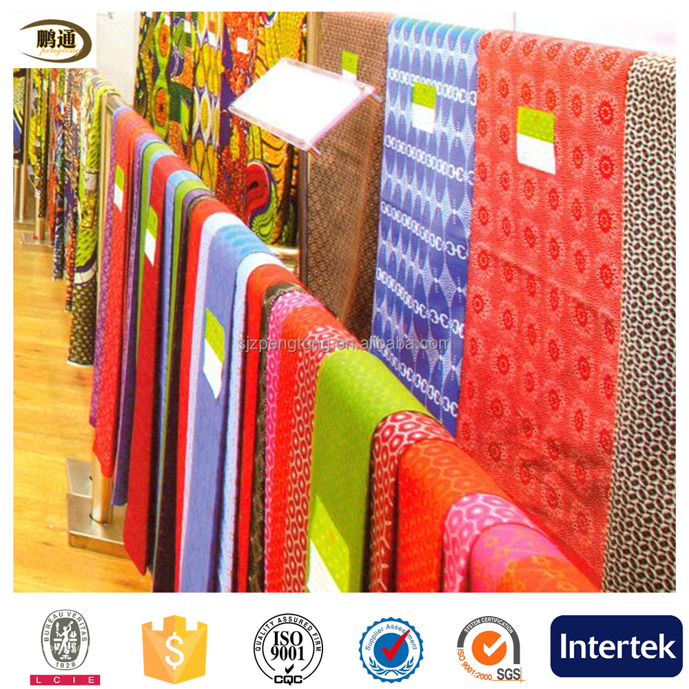 african super wax denum fabric wholesale