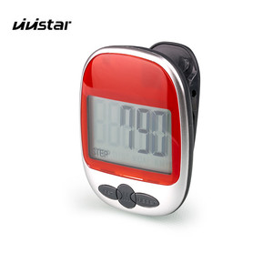 Free Shipping Walking Pedometer Track Steps Portable Sport Pedometer Step distance Fitness Tracker Calorie Counter