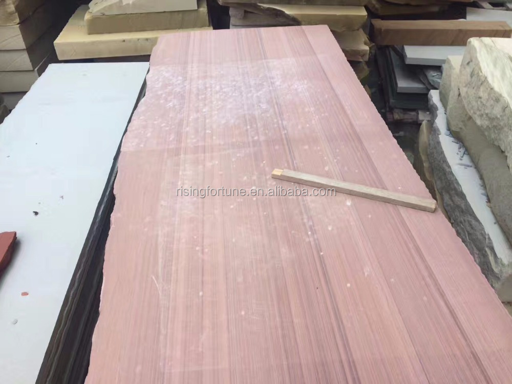 Red wood vein sandstone