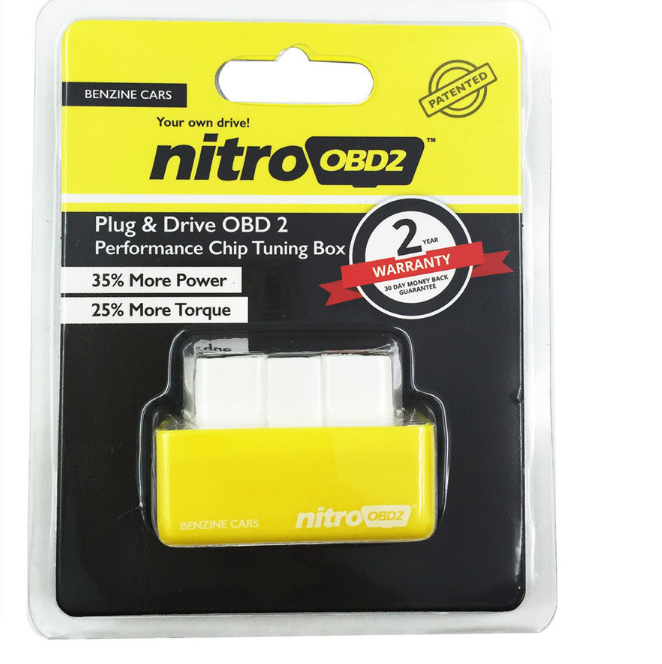 Reduce the fuel consumption Nitro OBD works based OBD2 protocols as remapping the Car's computer ECU