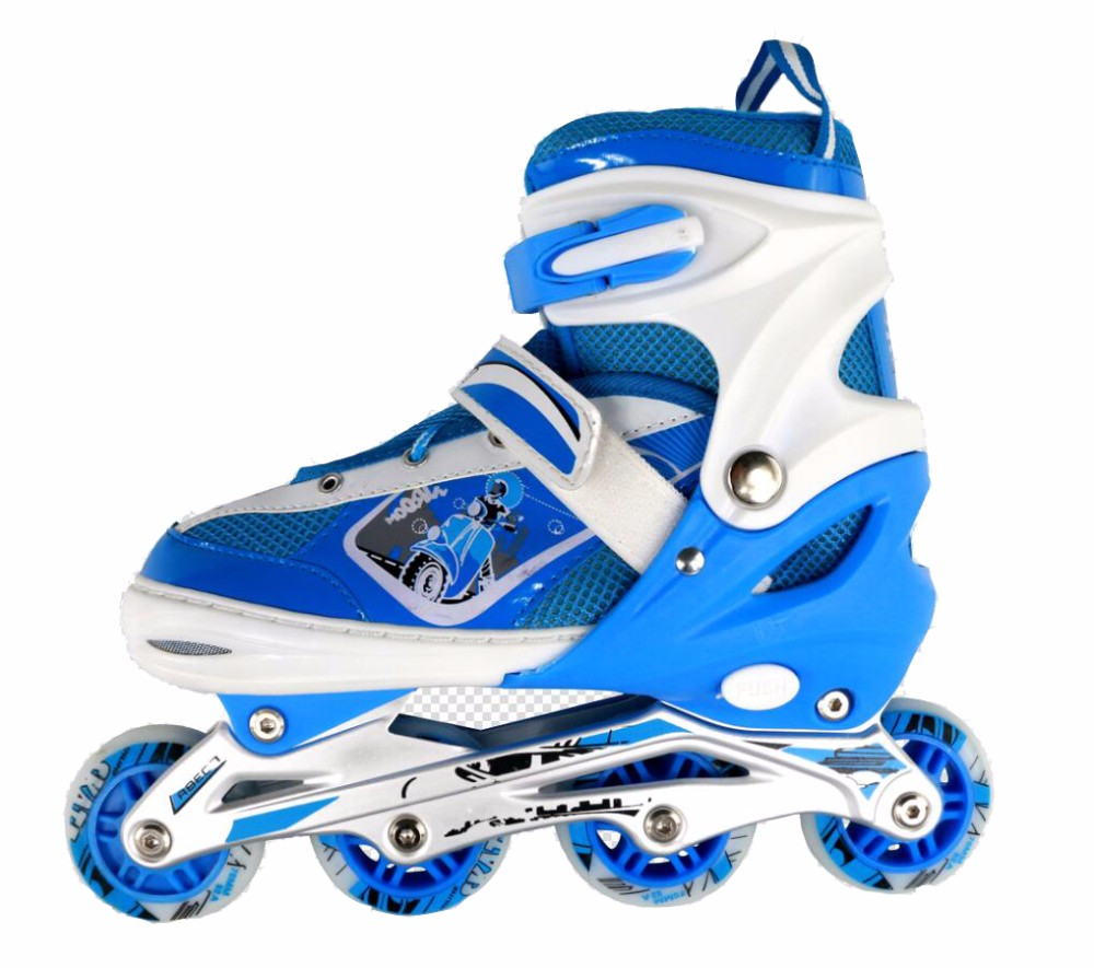 Professional Custom Aggressive flashing roller inline skates with LED lights