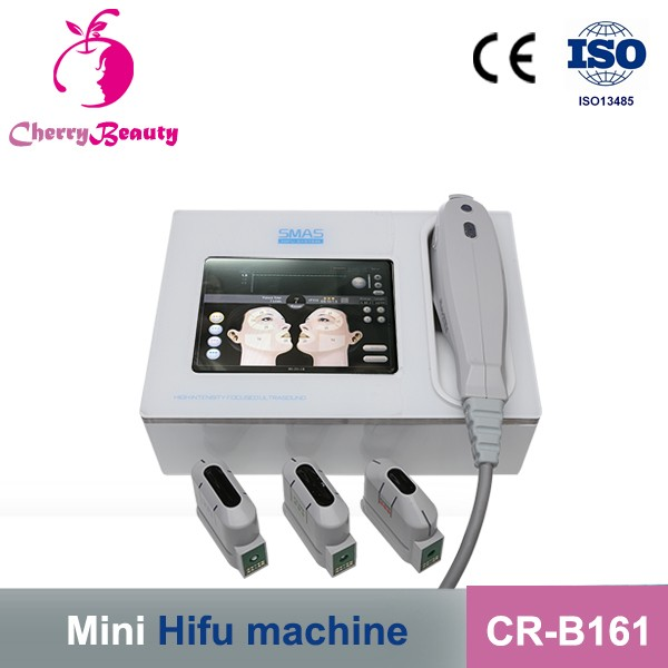 3D HIFU with 5 different cartridges for your choice face ifting body slimming machine