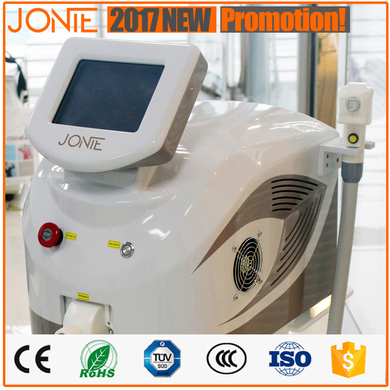 Best Effect Elight laser hair removal professional equipment for Beauty Salons with Germany bars 808nm diode laser
