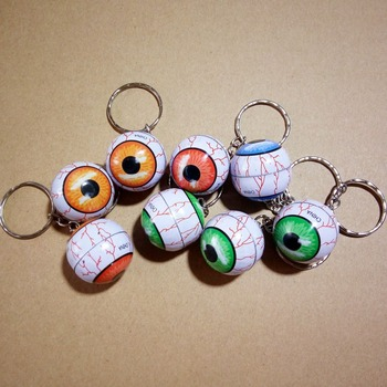 Special Design Promotional Product Metal Eyeball Key Ring