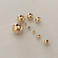 Different Size Round 14K gold-filled Gold Filled Beads With Cheap Price