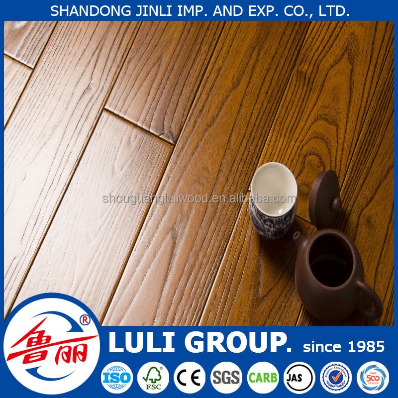 8mm 12mm laminate wooden flooring from LULI GROUP with ISO 9001 and 14001